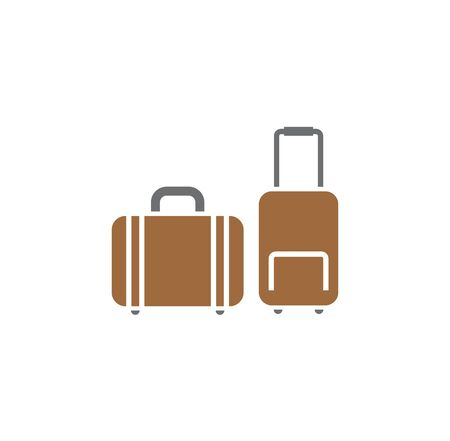 Travel related icon on background for graphic and web design. Creative illustration concept symbol for web or mobile app.