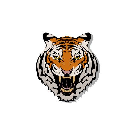 tiger logo emblem.