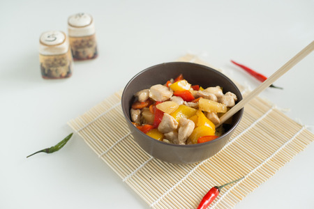 everyday scenes: Chinese cuisine Stock Photo