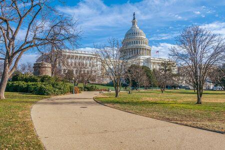 The United States Capitol. Washington DC. USA