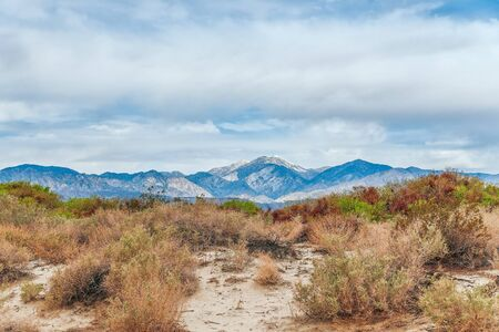 View of Coachella Valley from Desert Hot Springs. Southern California. USA