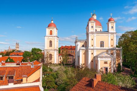 View of the Orthodox Church of the Holy Spirit. Vilnius. Lithuania
