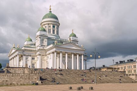 Helsinki Cathedral is the Finnish Evangelical Lutheran cathedral