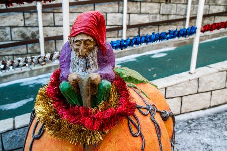 gnome: old gnome Stock Photo
