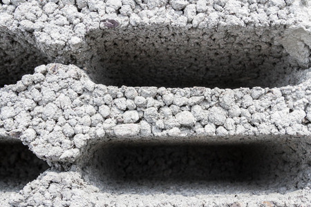 building materials: Building materials based on the open construction