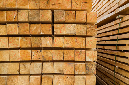 wooden beams: Wooden beams on the basis of an open construction