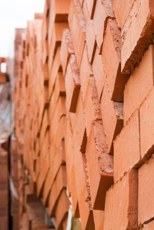 brick building: The red brick building on the basis of