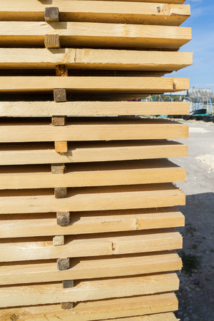 building materials: Building materials for sale outside on the basis of the building