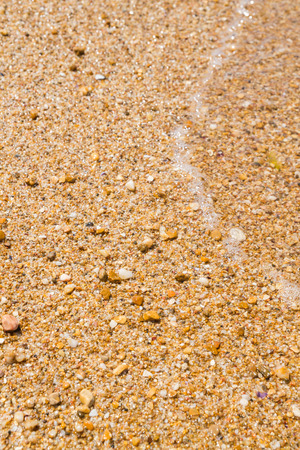 The sea beaches in summer in clear weather Stock Photo