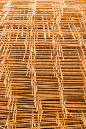 Mesh reinforcement on the sale on the basis of the building