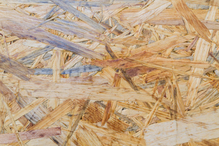 Oriented strand Board consisting of wood chips for construction