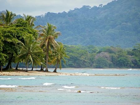 viejo: Caribbean coast near Puerto Viejo in Costa rica Stock Photo