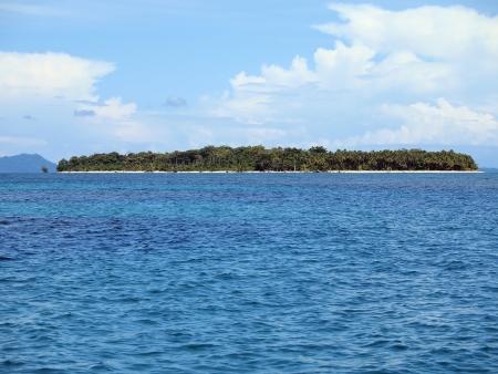 unspoiled: Unspoiled Caribe isla con vegetaci�n exuberante, Bocas del Toro, Panam�