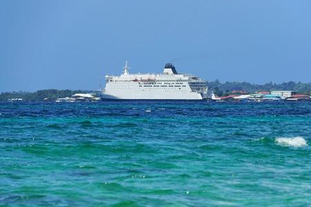 bocas del toro: The new large ferry boat in Bocas del Toro offer transportation to Colon City to Isla Colon, Caribbean, Panama