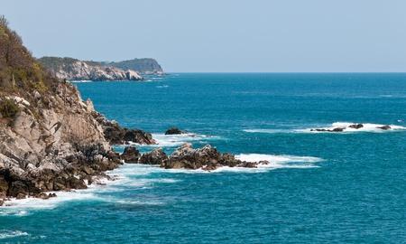 Pacific coast of Mexico near Huatulco