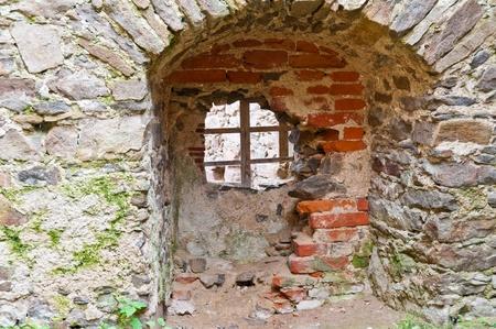 burg: Part of the castle ruins in Austria