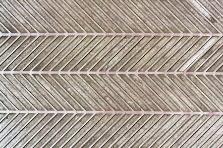 textura: O velho vermelho rachado ao ar livre tapete de borracha textura. Banco de Imagens