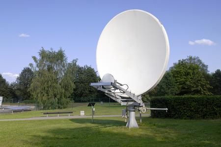 parabolic: Parabolic retro antenna of space information  communication and television