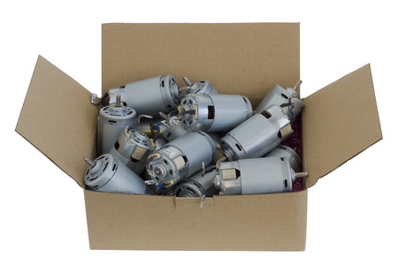 utilization: Reliable and safe packing for your electric motors. Mass production motors from blenders are prepared for utilization and recicling. Isolated