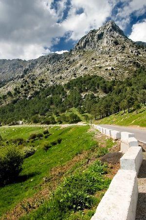 Mountain range of Grazalema ( Cadiz ) Stock Photo - 668645