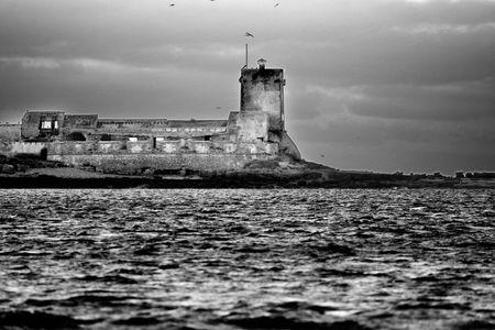 Castle of Sancti Petri Stock Photo - 695741
