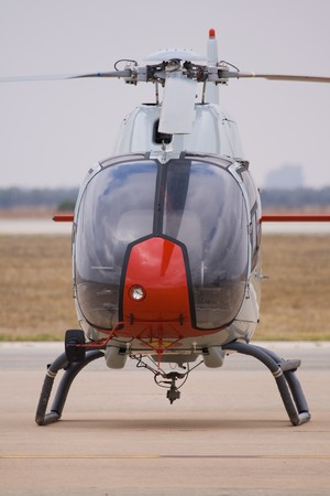 taker: Helicopter used in order that the future pilots accomplish their first practices