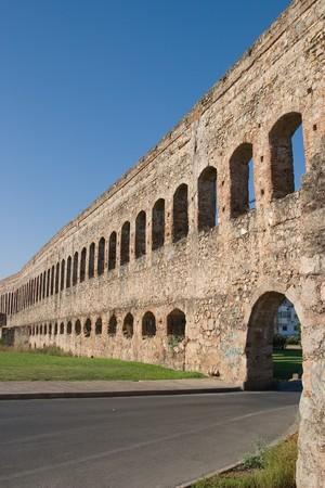 epoch: Acquedotto San Lazaro dal epoca romana immessi in provincia romana antica Lusitania