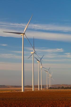 Typical windmill or aerogenerator of aeolian energy photo