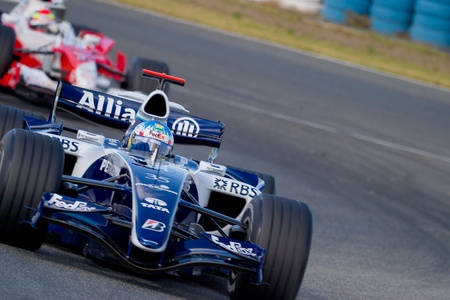 motor race: JEREZ DE LA FRONTERA, Spanje - 11 okt: Alex Wurz van Williams F1 op 11 oktober 2006 inzake trainingssessie in Jerez de la Frontera, Spanje