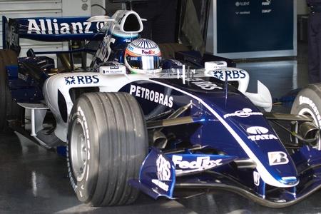 JEREZ DE LA FRONTERA, SPAIN -  OCT 11: Narain Karthikeyan of Williams F1 on October 11 , 2006 on training session in Jerez de la Frontera , Spain