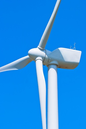 Typical windmill or aerogenerator of aeolian energy photo