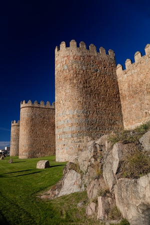 Wonderful medieval outer wall that protects and surrounds the city of Avila