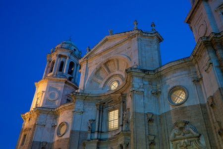 Wonderful cathedral of neoclassical style  photo
