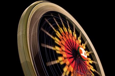 ferriswheel: Ruota panoramica sulla fiera del Carmen e del Sale Archivio Fotografico