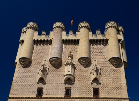 epoch: Tower of Juan II, of the fantastic castle and residence  of kings of  the medieval epoch