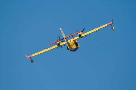 destined: Seaplane destined to the fight against the fires
