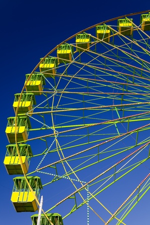 fairs: Ferris wheel on the fair of El Puerto de Santa Maria