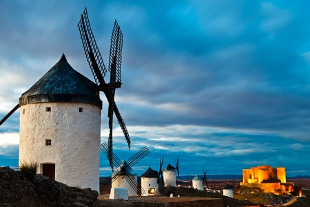 Typical windmills of  Region of Castilla la Mancha