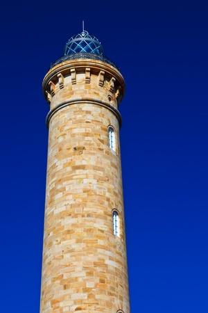 Wonderful lighthouse known as  lighthouse of Chipiona at the province of Cádiz photo