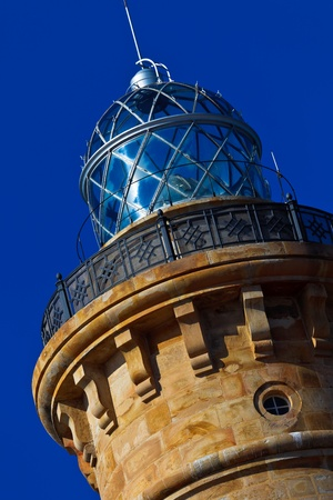 Wonderful lighthouse known as  lighthouse of Chipiona  photo