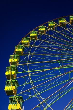 Ferris wheel on the fair of El Puerto de Santa Maria photo