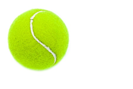A padel ball isolated on a white background photo