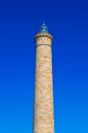 atilde: Wonderful lighthouse known as  lighthouse of Chipiona at the province of C&amp,Atilde,&amp,iexcl,diz