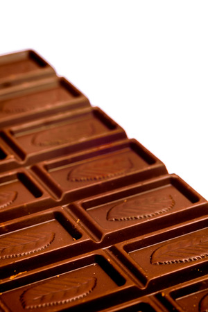 A composition of chocolate bars  ready to eat photo