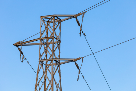 Metaalstructuur van transmissie van elektrische stroom