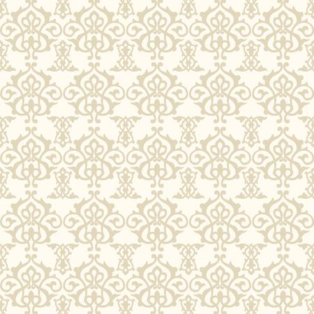 Middle Eastern Seamless Pattern Background Ilustração Vetorial