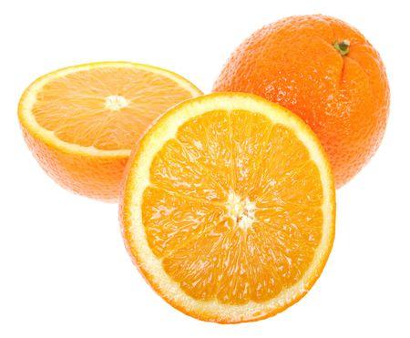 Fresh juicy oranges Stock Photo