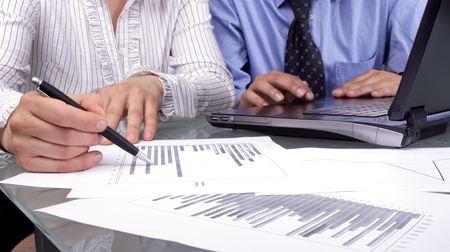 Serious analysis Stock Photo - 5113073