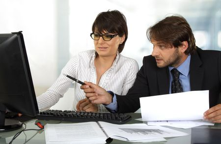 business people working Stock Photo - 5127333