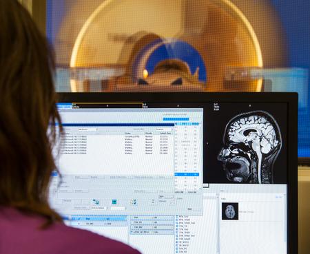 Scanner brain MRI X-ray hospital